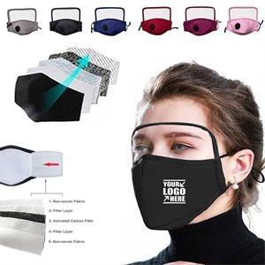 Mask with eye protection