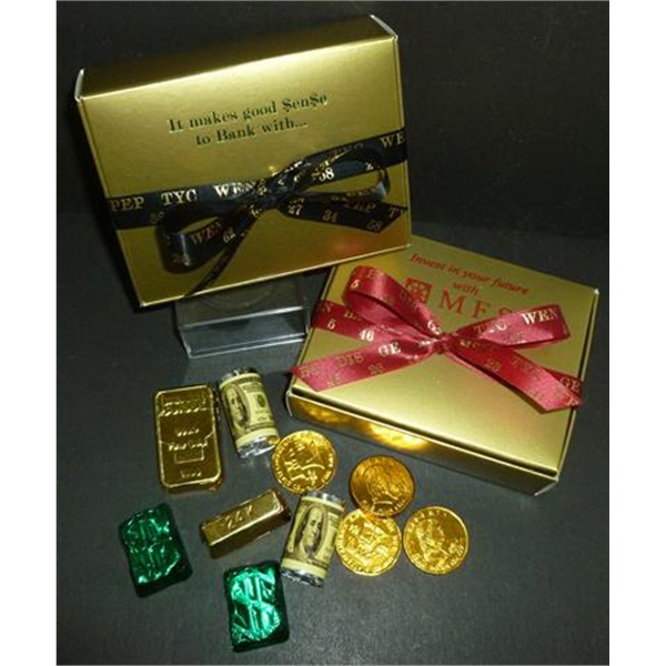 gold money box
