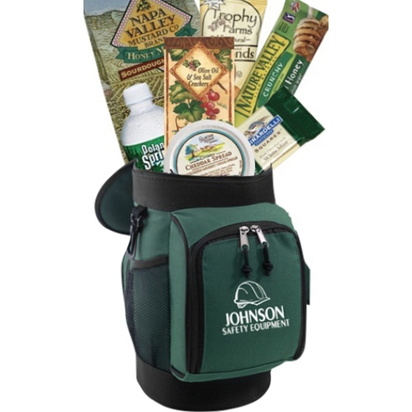 Golf Cooler with Snacks corporate gift
