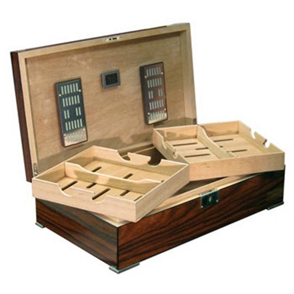 Salvador 250 Count Brazilian Rosewood Cigar Humidor