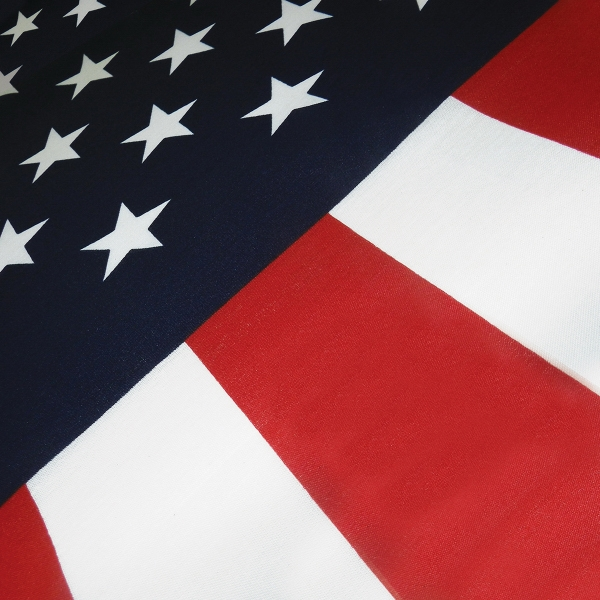 10x19 Embroidered Sewn USA American 600D Nylon Flag 10/'x19/'