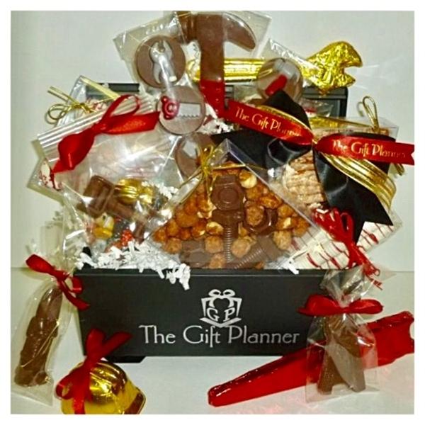 Chocolate Tools - Cookies - Nuts Extravaganza Toolbox Gift