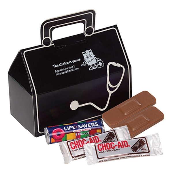 Doctor's Bag/Chocolate Aspirin/Chocolate Bandages /Lifesaver