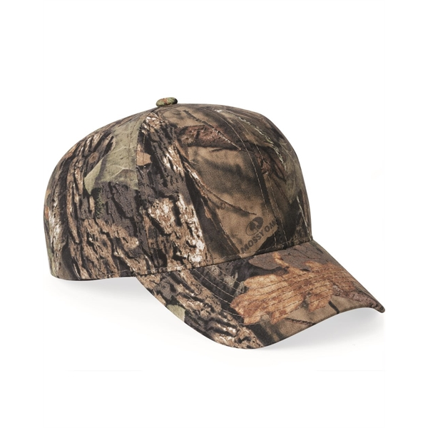 360 Outdoor Cap 6 Panel Structured Hat Hunting Sewn Eyelets Camo Cap