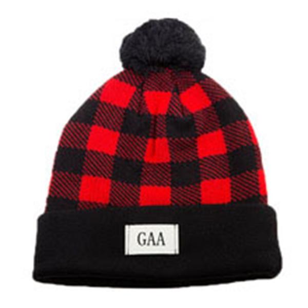 Qdkva Winter Sport Knit Beanie Knitted Hat Fashion Basketball Cuffed Knit Cap Embroidery Logo Hats