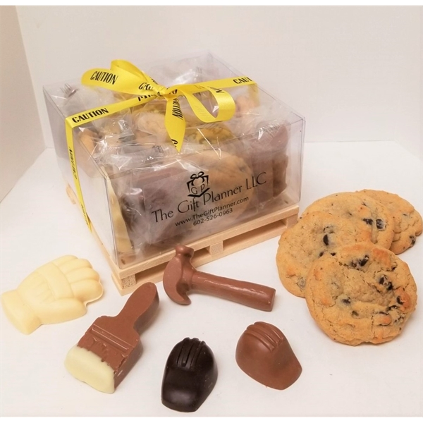 Chocolate and Cookie La Pallet Gift Box