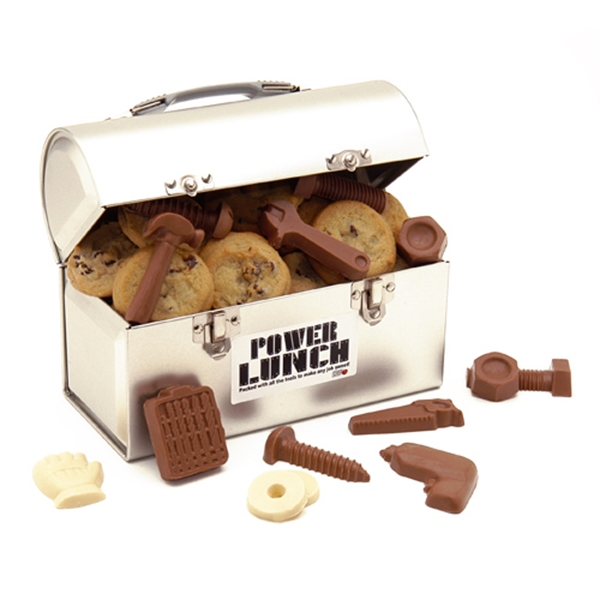Contractors Cookie and Chocolate Tools Lunchbox Toolbox