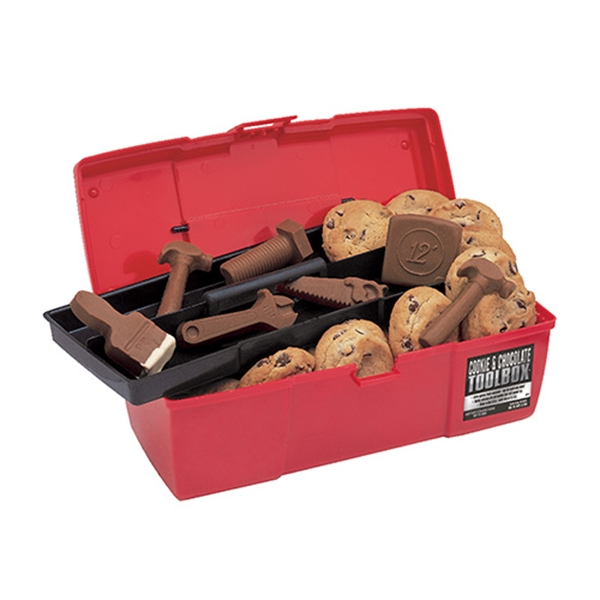 Cookie and Chocolate Tools Of The Trade Red Toolbox