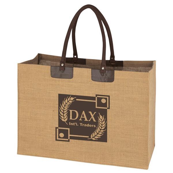 Brand new eco-friendly jute bag NIGHT OWL H30xW30xD20cm