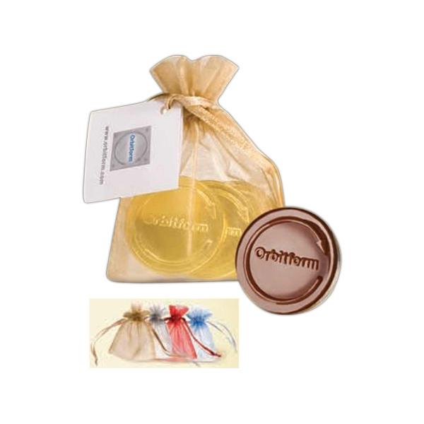 Chocolate Coins with Custom Logo