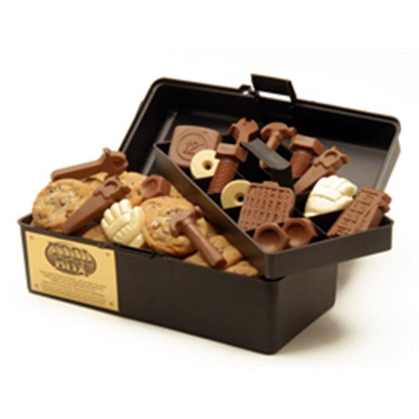 Grand cookie and chocolate tool box. Kosher