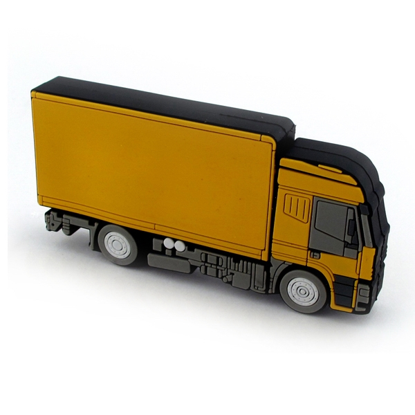 Yellow Truck USB Drive